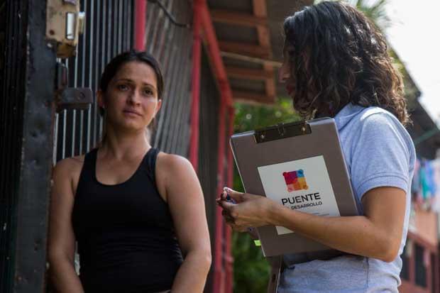 Pobreza en 389 familias de Puente al Desarrollo disminuyó 10%