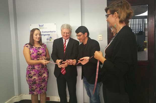 Inauguran Centro Comunitario Inteligente en la Sabana