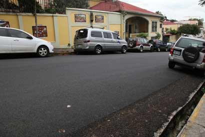 Obras de recarpeteo en San José iniciarán su segunda etapa este lunes