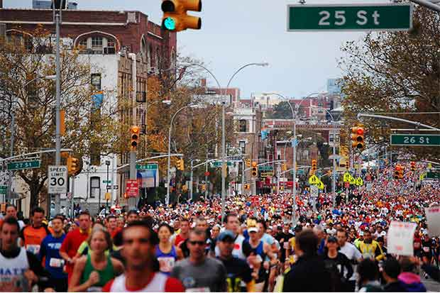 Nueva York, reina de las maratones
