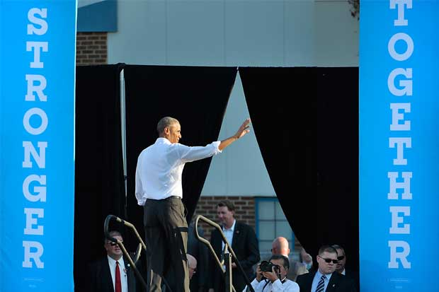 Los Clinton y los Obama harán campaña juntos en la víspera de la elección