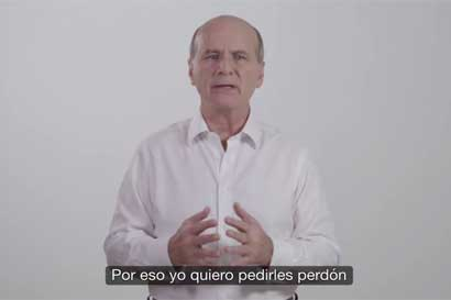 """Figueres: """"Quiero pedirles perdón si se han sentido defraudados con mis actuaciones"""""""