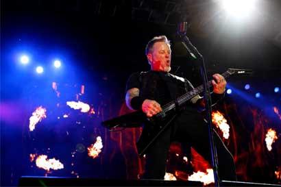 Más de 30 mil personas disfrutaron el concierto de Metallica