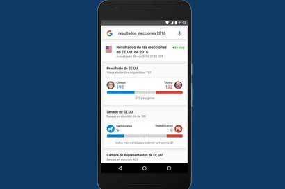 Google se prepara para cubrir las elecciones de los Estados Unidos