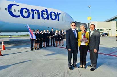 Condor inaugura vuelo entre Múnich y Costa Rica