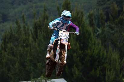 Tica es la mejor del motocross latinoamericano