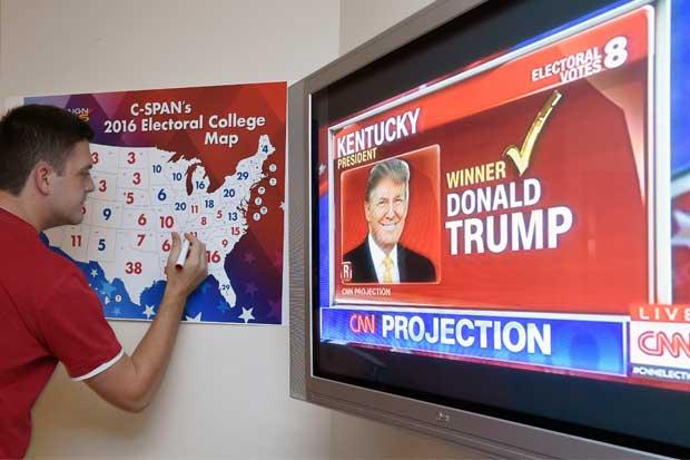 Empieza conteo de elecciones de EE.UU. en Kentucky e Indiana, donde gana Donald Trump