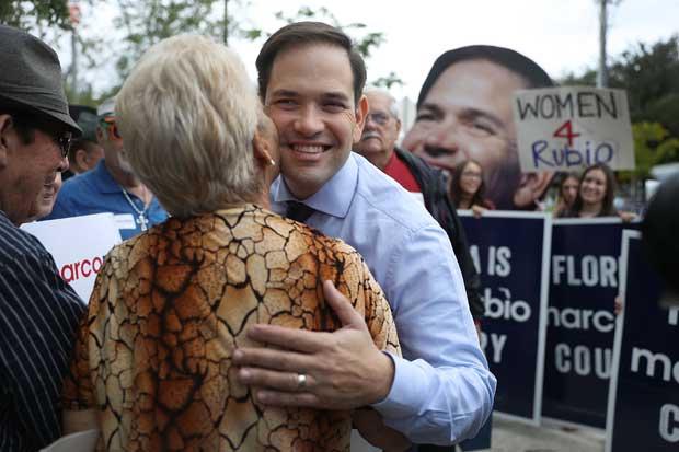 Republicano Marco Rubio reelecto al Senado por Florida
