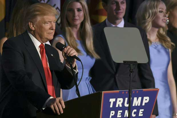Donald Trump sorprende al mundo y es electo presidente de EEUU