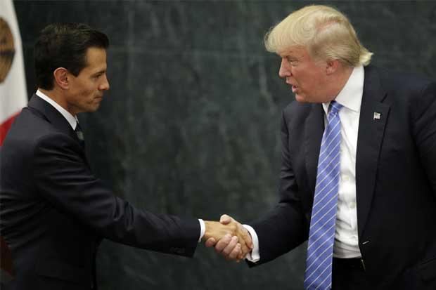 Presidente mexicano reitera a Trump compromiso de trabajar juntos