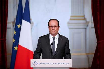 Hollande: el triunfo de Trump abre un período de incertidumbre