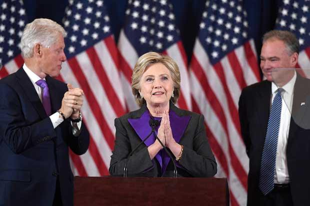 """Hillary Clinton: """"Debemos aceptar los resultados, Trump es nuestro nuevo presidente"""""""