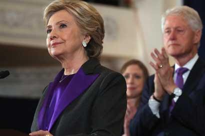 Clinton recibió más votos que Trump, pero no será presidenta