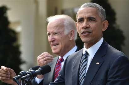 Obama deseó éxito a Trump en su próximo mandato