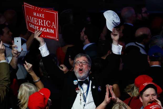 Hombres blancos, mayores de 45 años y rurales llevaron a Trump a Casa Blanca