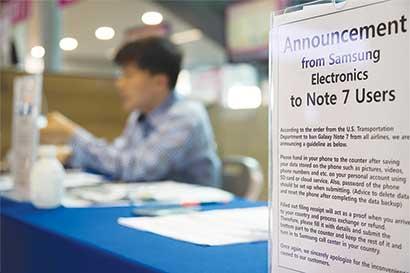 Samsung se disculpa por problemas del Note 7