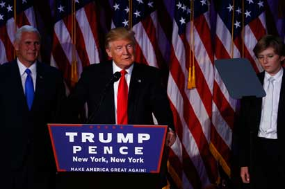 Victoria de Trump golpearía industrias contra el cambio climático
