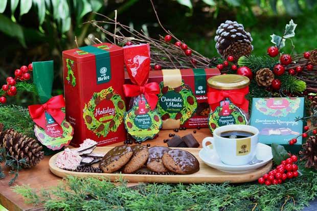 Britt presentó nuevos productos gourmet navideños