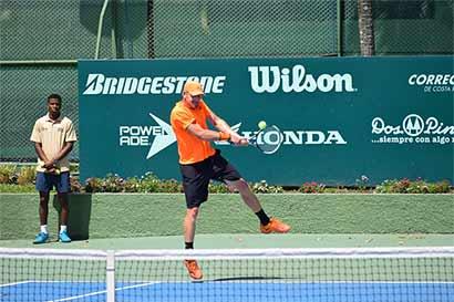 Torneo internacional de tenis en Costa Rica llega al clímax