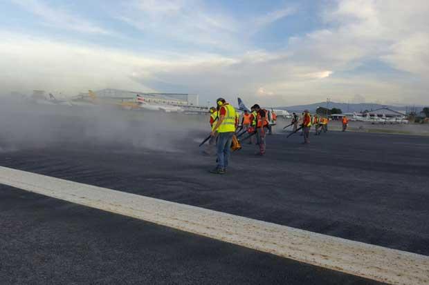 11 vuelos suspendidos por ceniza en Aeropuerto Juan Santamaría