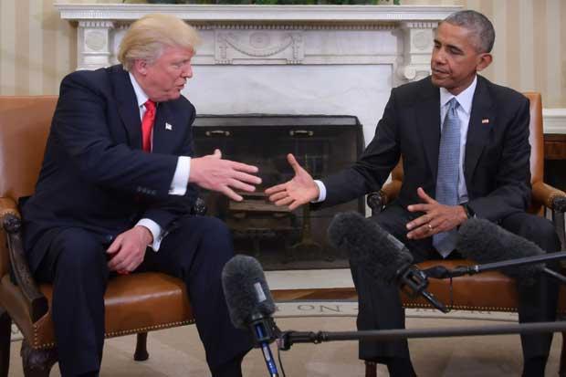 """Trump dijo que estará abierto a recibir """"consejos"""" de Obama"""