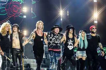 Organizadores de concierto de Guns N' Roses se encargarán de basura