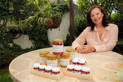 Chile Jelly mezcla lo dulce y picante en las salsas