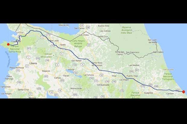 Megaproyecto que conectaría Guanacaste con Limón costaría $16 mil millones