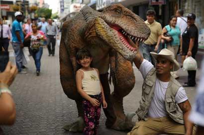 Dinoworld llegará a City Mall y mostrará 22 dinosaurios
