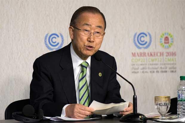 Jefe de la ONU: 'Seguro' que Trump reconsidera postura sobre el clima