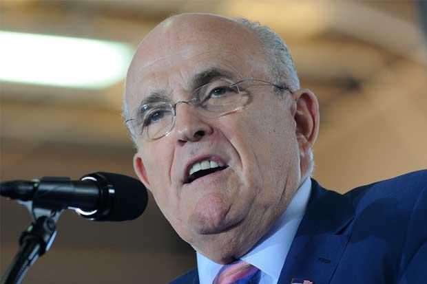 Rudy Giuliani, exalcalde de Nueva York, favorito para secretario de Estado