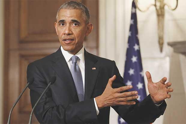 """Obama aboga en Atenas por una """"Europa fuerte y unida"""""""