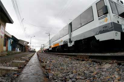 Alajuela y Heredia tendrán servicio de tren los sábados hasta las 2:45 p.m.
