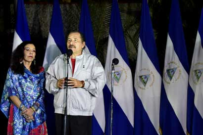Consejo electoral nicaragüense oficializó reelección de Ortega