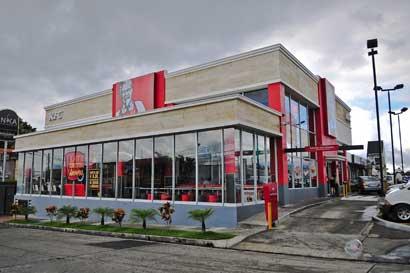 KFC implementa servicio exprés en Curridabat