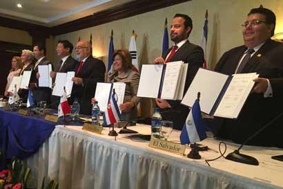 Tratado de Libre Comercio entre Centroamérica y Corea finalizó negociaciones