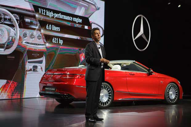 Próximo Mercedes-Maybach es un convertible de $323 mil