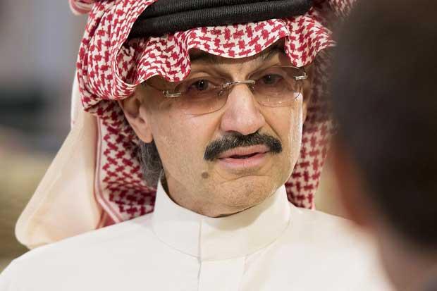 Príncipe saudí Alwaleed dice que podría vender ciertas acciones