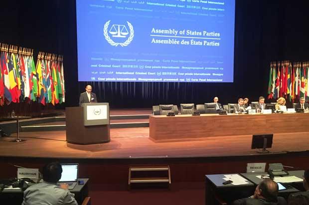 País elegido a vicepresidencia de la Asamblea de Estados Parte de la Corte Penal Internacional