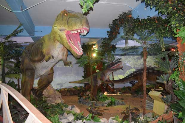 Dinoworld abrirá mañana en City Mall
