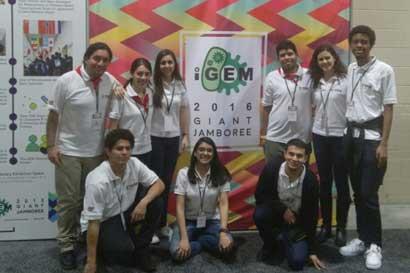 Estudiantes del TEC obtienen premio en biología sintética