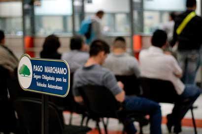 Hacienda revisa casos de 1.250 personas por cálculo de marchamo