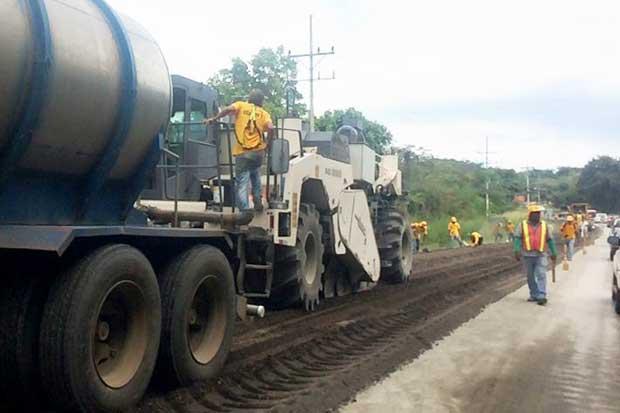 Rehabilitación de carretera entre Liberia y Guardia estará lista en febrero