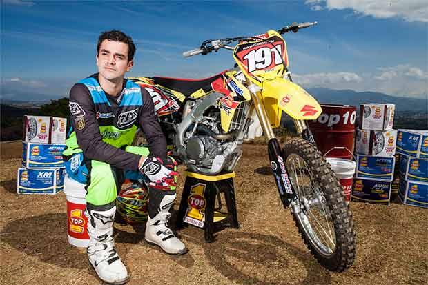 Roberto Castro inmortal en motocross