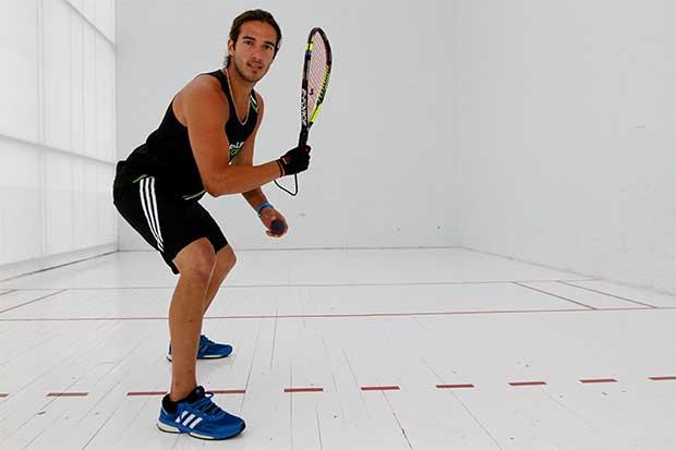 Tico top ten mundial en Raquetball