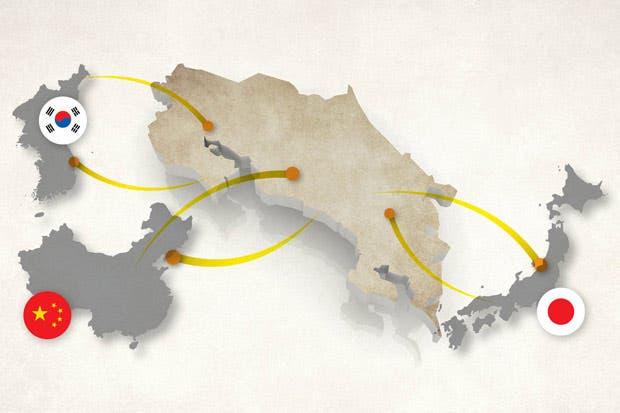 Asia, el futuro de Costa Rica