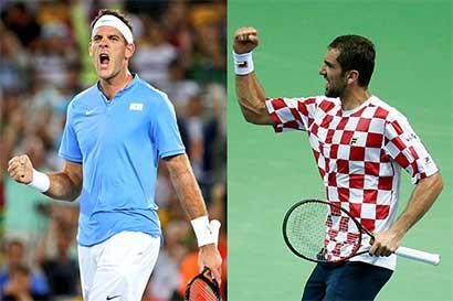 Dos naciones ansían la gloria en Copa Davis