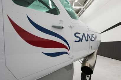 Sansa canceló vuelos por cierre de aeropuertos nacionales