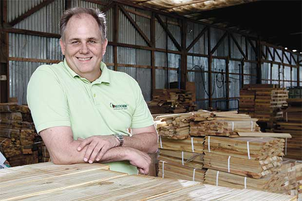 Kodiak impulsa uso sostenible de la madera