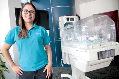 Nuevos equipos simulan el útero a bebés prematuros